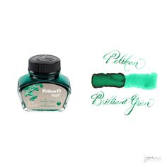 Pelikan 30 ml Bottle 4001 Fountain Pen Ink, Brilliant Green
