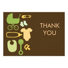 creative baby products baby shower thank you cards