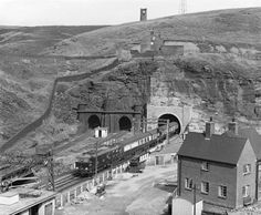Electric train at Woodhead, 1954 E Electric, Electric Train, Huddersfield Yorkshire, Rail Transport, British Rail, Barnsley, Electric Locomotive, Train Travel, Historical Photos