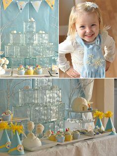 Bird's Party Blog: Winter Birthdays: Penguin 'Cool Igloo' Birthday Party
