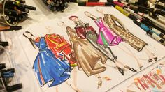 Illustrator Jenny Walton Dishes on Creating the Artwork for InStyle's…