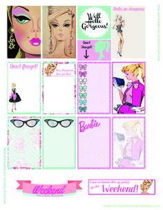 Printable Barbie