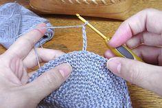 麻の葉模様の編み方2
