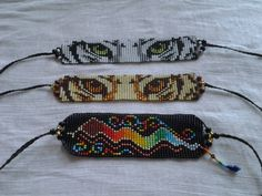 Beaded Bracelets Tutorial, Bead Loom Bracelets, Bracelet Set, Bead Loom Patterns, Bracelet Patterns, Beading Patterns, Bead Embroidery Jewelry, Beaded Embroidery, Postage Stamp Quilt