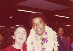Ann & Barak at his high school graduation