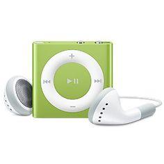Apple iPod shuffle, 2GB, Green