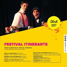 #FAMILIAconarte Ya arrancamos con la presencia de Festival Itinerarte en #NiñosCONARTE! Únete a esta tropa de expertos en las artes del CLOWN y aprende todos sus secretos. INFO: Vive Agenda Conarte #EstoEsCONARTE