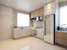 Archtrends Portobello - Onde as referên. Kitchen Sets, Kitchen Decor, Kitchen Cabinet Design, Kitchen Cabinets, Simple House Design, Minimalist Kitchen, Dream Decor, Luxurious Bedrooms, Home Kitchens