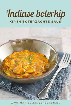 Indiase boterkip – Food And Drink Indian Food Recipes, Asian Recipes, Vegetarian Recipes, Healthy Recipes, Crock Pot Slow Cooker, Slow Cooker Recipes, Cooking Recipes, Butter Chicken, Hindu Food