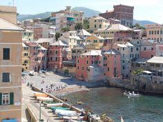 Boccadasse, a district of Genoa