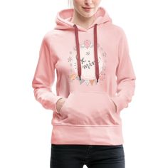 Warm and cuddly hoodie for women from our Spreadshirt Collection. Brand: Spreadshirt color crystal pink size L gender female age group adult condition new availability in stock Yoga Studio Design, Cool Shirt Designs, Yoga Lifestyle, Hoodies, Sweatshirts, Gender Female, Cool Shirts, Hooded Jacket, Boho