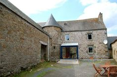 House for sale in Plestin-les-Grèves, France : An ancient manor house dating back to the 13th Century with circular tower. ...