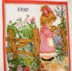 Kalenteripyyhe 1990