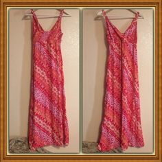 SALESundress NWOT New without tags. Pretty Hawaiian themed type dress. Size: small. Color: reds, oranges, whites. sorry no trades. ✅all offers thru the offer button only. Thank u!    I love to bundle! Faded Glory Dresses