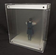 Unique paintings by Yosman Botero 3d Painting, Transparent, Hologram, Installation Art, Plexus Products, Amazing Art, Sculptures, Recycling, Diy