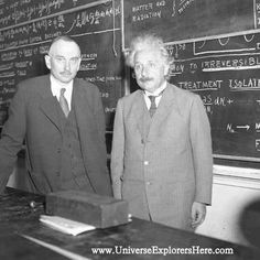 """how Albert Einstein was traveling to Universities in his car , delivering lectures on his theory of relativity. During one journey, the driver remarked """" Dr. Einstein, I have heard you deliver that lecture about 30 times. I know it by heart and bet I could give it myself."""" --->http://www.UniverseExplorersHere.com/ https://fbcdn-sphotos-b-a.akamaihd.net/hphotos-ak-frc3/t1/1900058_515923755191340_1230831729_n.jpg"""