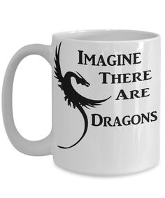 Just imagine! Stunning new novelty coffee mug design from The Golden Labyrinth shop on GearBubble - not available in stores - grab yours now! https://www.gearbubble.com/imaginedragons