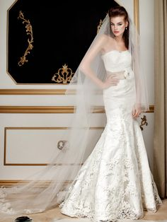 Lace Bridal Gown, Style 5835