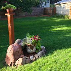 Innovative Image Backyard Grass Landscaping Backyard Grass Landscaping Restore A Weedy Patchy Lawn The Family Handyman
