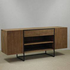 Scandi Sideboard Modern Interior, Interior And Exterior, Scandi Style, Sideboard, Teak, Tables, Minimalist, Delivery, Outdoors