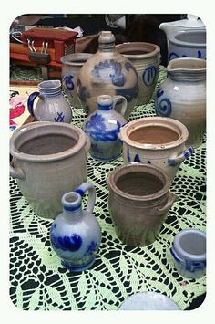 Pottery..