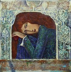 Born on of October 1961 in the village of Letchevo, District Montana, Bulgaria. In 1981 he ended. Classic Paintings, Original Paintings, Art Sketches, Art Drawings, Iranian Art, 2d Art, Russian Art, Artistic Photography, Types Of Art