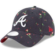 ec0fbac55 Women's Atlanta Braves New Era Navy Blossom 9TWENTY Adjustable Hat, Your  Price: $23.99 Atlanta