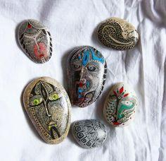 """""""My drawings on thr stones"""" by Kseniya Beliaeva   Redbubble"""
