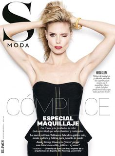 S Moda for El Pais October 25, 2014 | Heidi Klum by #Rankin #Covers2014 #HeidiKlum