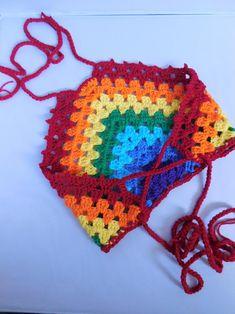 Beach Crochet, Crochet Halter Tops, Crochet Girls, Cute Crochet, Crochet For Kids, Crochet Baby, Crochet Bikini, Top Tejidos A Crochet, Knit Crochet
