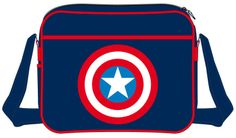 Bandolera Capitán América. Logo escudo
