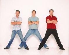 Richard Ruccolo, Ryan Reynolds, Nathan Fillion   'Two guys & a girl'