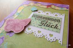 Geburt-Karte-Mädchen-lila-passend-Album-Detail-Cover