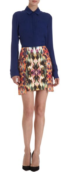 ICB Suiting Skirt: I heart this kaleidoscope print. It's even better in person. It would look even better ON ME, I bet.