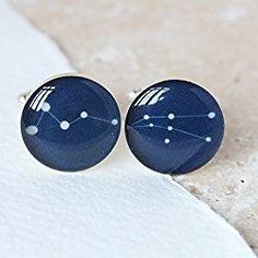 unique constellation jewelry - cufflinks