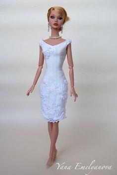 The Bridal Gown Breakdown – Featuring Barbie Wedding Styles Fashion Royalty Dolls, Fashion Dolls, Fashion Dresses, Barbie Dress, Barbie Clothes, Barbie Doll, Barbie Wedding, Bride Dolls, Barbie Patterns