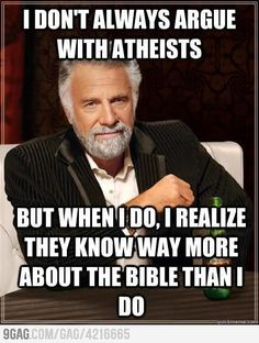Atheist Logic #clever