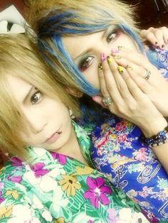 Kazuki and Subaru