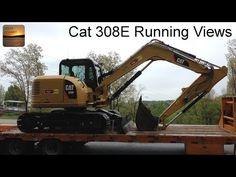 ▶ Cat 308E CR SB Excavator - Interesting Running Views - YouTube