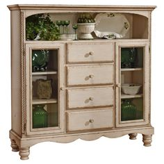 Found it at Wayfair - Wilshire Baker's Cabinet in White