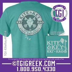TGI Greek - Kappa Alpha Theta - Kappa Kappa Gamma - Kite & Key #TGI Greek #kite&key #kappakappagamma a#KappaAlphaTheta #comfortcolors #dateparty