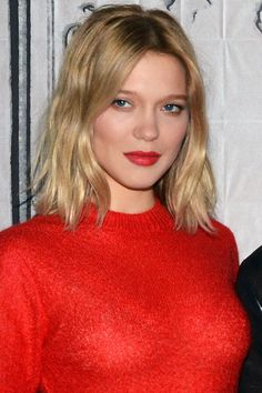 The Francophile's Guide to Looking Like You Don't Care About Your Hair | Léa Seydoux looks like she doesn't even own a blow-dryer, in the very best way possible.  Read more: http://stylecaster.com/beauty/french-hairstyles/#ixzz4h52fn08S