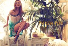 Edita Vilkeviciute for Patrizia Pepe Spring 2012 Campaign by Mert & Marcus