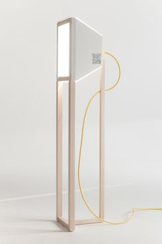 Swiss minimalism variable intensity lamp. Yes please. (Easink is a minimalist design created by Switzerland-based designer Puzzle.)