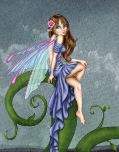 ☆ Pretty Fairy -::- Colors Artist Kate Finnegan -::- Lines Artist Alicia Matheson Pickens ☆