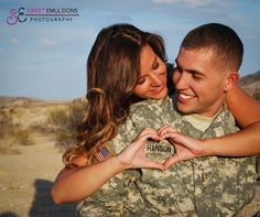 Fort Irwin Photographer. Couples Photography. National Guard Training Center
