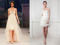 Short wedding dresses...