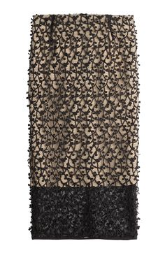 BY MALENE BIRGER Textured Lace Pencil Skirt. #bymalenebirger #cloth #office skirts