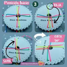 Tutorial Pulsera Kumihimo - Material para manualidades2