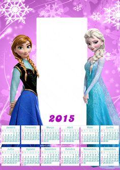 calendário frozen 2015